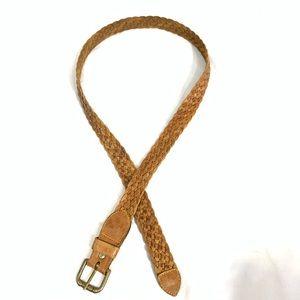 VINTAGE Outback Woven Leather  Belt